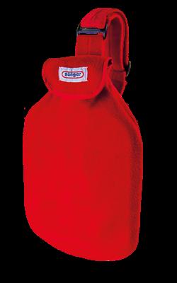 Körperwärmer mit Wärmflasche, rot
