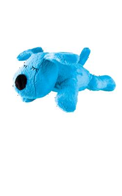 Kirschkernkissen für die Mikrowelle, Hund Taps in blau