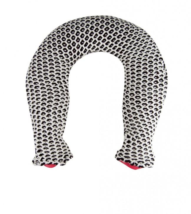 Nackenwärmflasche mit Strickbezug aus Baumwolle, Maja