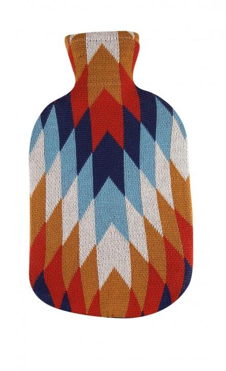 2,0 Liter Wärmflasche mit Strickbezug aus Baumwolle, Jaime