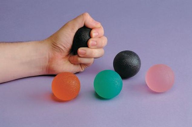 rot Gelball-Handtrainer soft