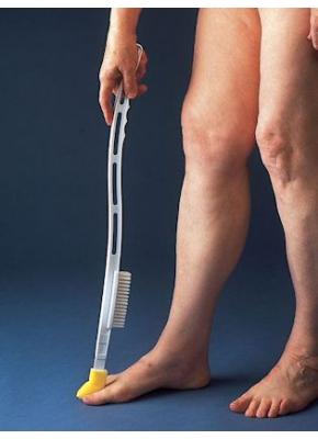 Zehenwäscher und Fußpflegeset
