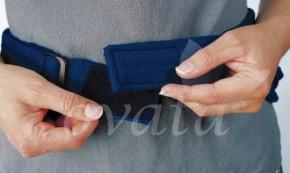Körperwärmer mit Wärmflasche, blau